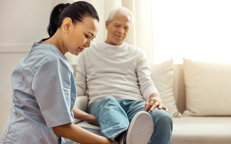 In home rehabilitation support